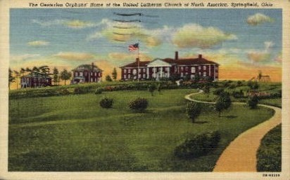 The Oesterlen Orphans' Home - Springfield, Ohio OH Postcard