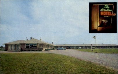 The Meadows Motel - Springfield, Ohio OH Postcard
