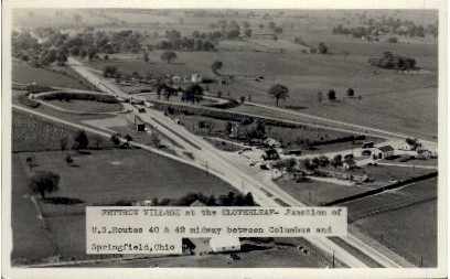 Fettrow Village at the Cloverleaf - Springfield, Ohio OH Postcard