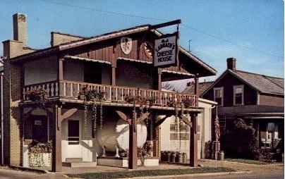 A.J. Ladrach Cheese House - Sugarcreek, Ohio OH Postcard
