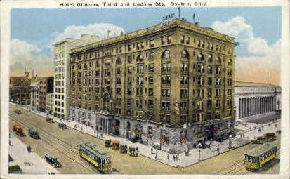 Hotel Gibbons - Dayton, Ohio OH Postcard