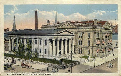 Court House - Dayton, Ohio OH Postcard