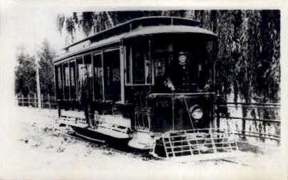 395 Trolley - Dayton, Ohio OH Postcard