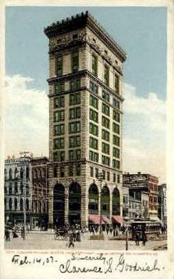 Conover building - Dayton, Ohio OH Postcard