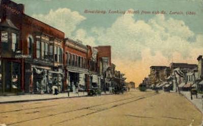 Broadway - Lorain, Ohio OH Postcard