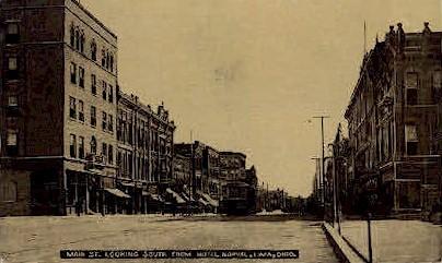 Main St. - Lima, Ohio OH Postcard