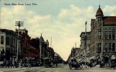 Lima, Ohio, OH Postcard