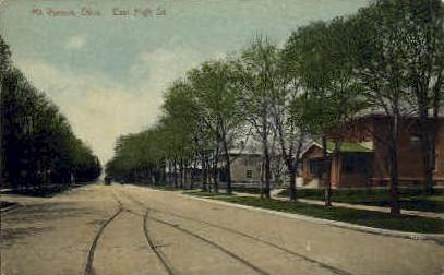 High St. - Mt. Vernon, Ohio OH Postcard