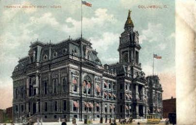 Court House - Columbus, Ohio OH Postcard