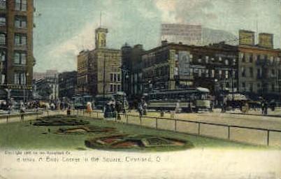 Corner in the Square - Cleveland, Ohio OH Postcard