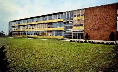 C.F. Kettering Hall of Science - Wilmington, Ohio OH Postcard