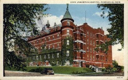Good Samaritan Hospital - Zanesville, Ohio OH Postcard