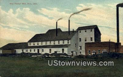 Alva Plaster Mill - Oklahoma OK Postcard