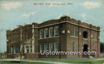 East Side Public School - Alva, Oklahoma OK Postcard
