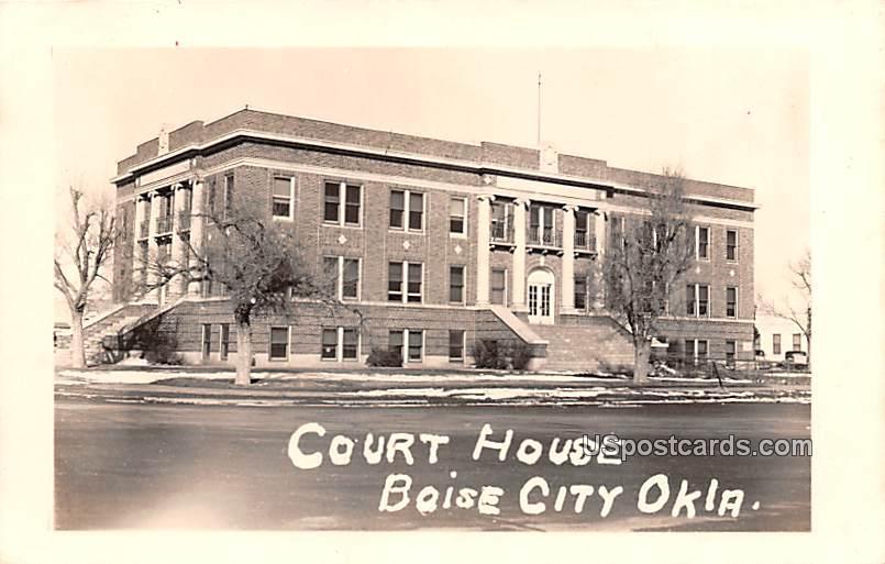 Court House - Boise City, Oklahoma OK Postcard