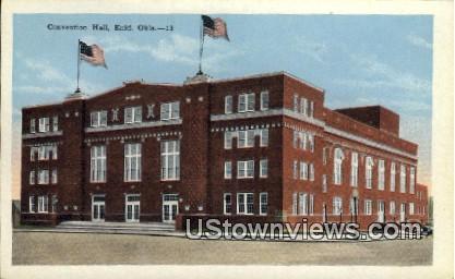 Convention Hall - Enid, Oklahoma OK Postcard