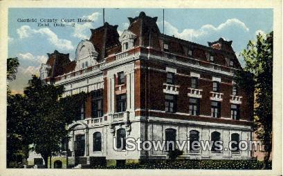 Garfield County Court House - Enid, Oklahoma OK Postcard