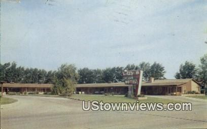 Lazy H Motel - Enid, Oklahoma OK Postcard