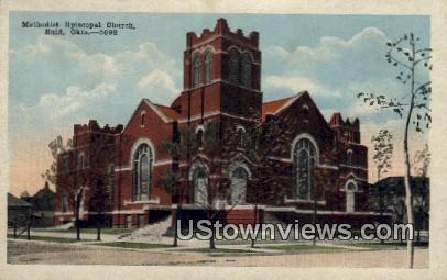 Methodist Episcopal Church - Enid, Oklahoma OK Postcard