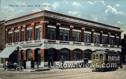 Oklahoma State Bank - Enid Postcard