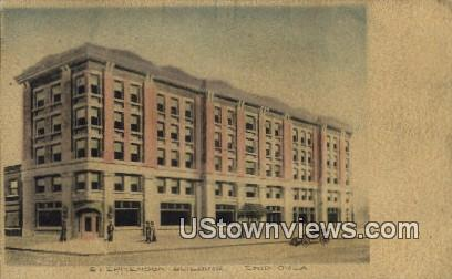 Stephenson Building - Enid, Oklahoma OK Postcard