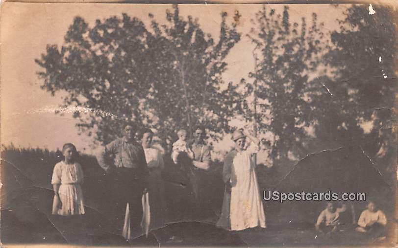 Family Photo - Enid, Oklahoma OK Postcard