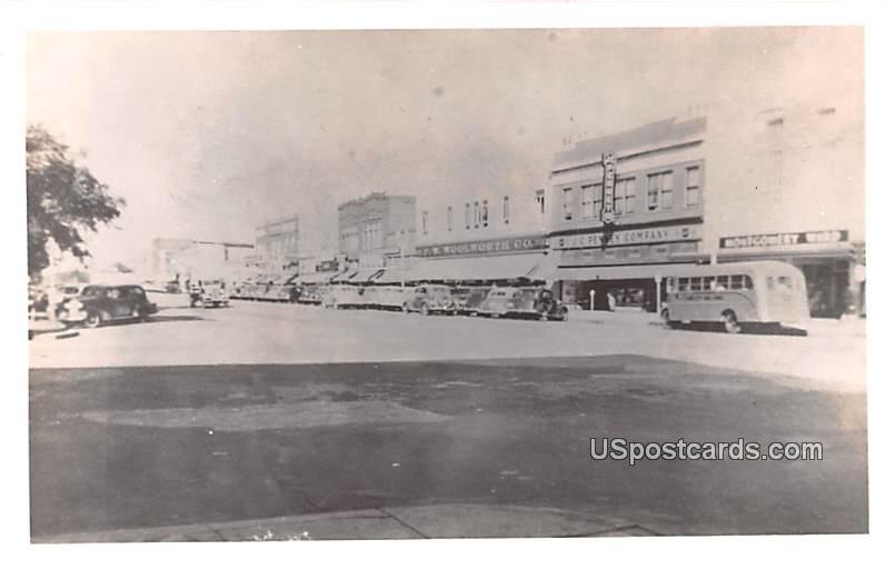 Street Scene - Enid, Oklahoma OK Postcard