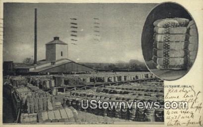 Cotton Compress - Guthrie, Oklahoma OK Postcard