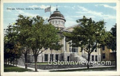 Carnegie Library - Guthrie, Oklahoma OK Postcard