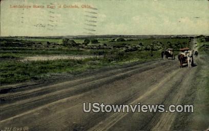 Landscape Scene - Guthrie, Oklahoma OK Postcard