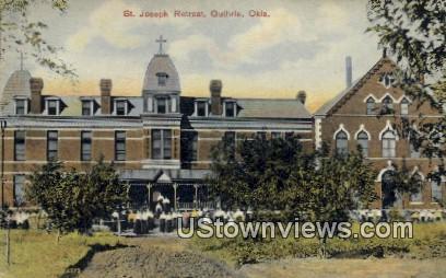 St. Joseph Retreat - Guthrie, Oklahoma OK Postcard