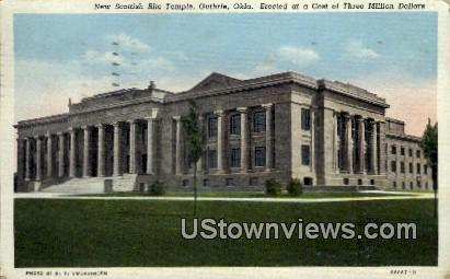 New Scottish Rite Temple - Guthrie, Oklahoma OK Postcard
