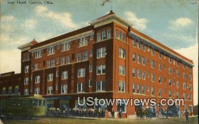 Hotel Ione - Guthrie, Oklahoma OK Postcard