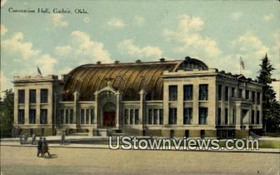 Convention Hall - Guthrie, Oklahoma OK Postcard