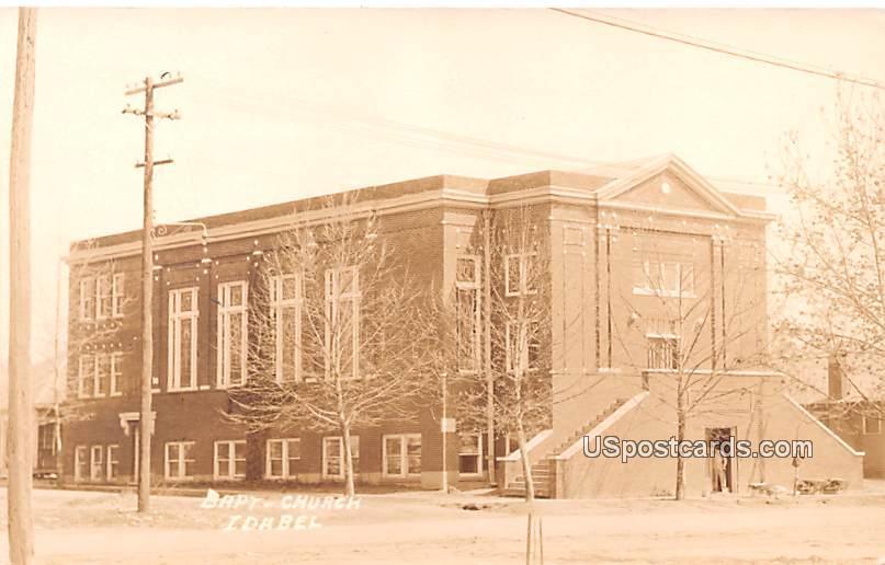 Baptist Church - Idabel, Oklahoma OK Postcard