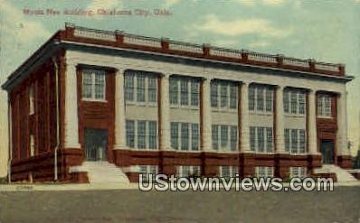 Monta Nee Building  - Oklahoma City Postcards, Oklahoma OK Postcard