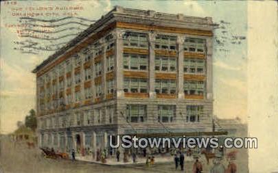 Odd Fellow's Building - Oklahoma City Postcards, Oklahoma OK Postcard