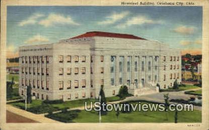 Municipal Building - Oklahoma City Postcards, Oklahoma OK Postcard
