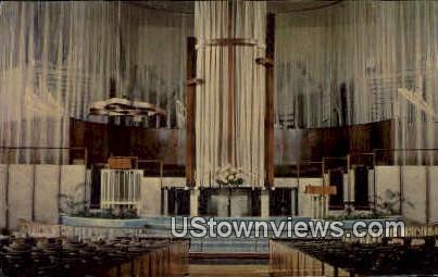 St. Luke's Methodist Church - Oklahoma City Postcards, Oklahoma OK Postcard