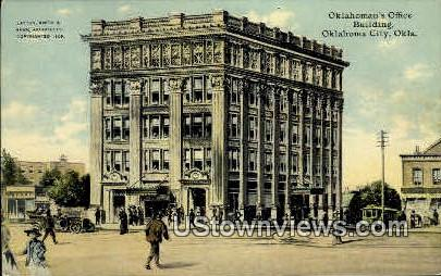 Oklahoman's Office Building - Oklahoma City Postcards Postcard