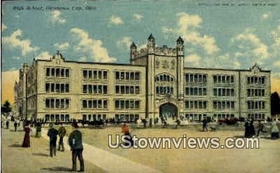 High School - Oklahoma City Postcards, Oklahoma OK Postcard