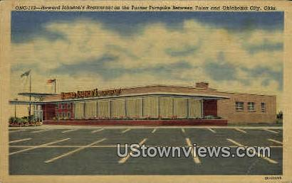 Howard Johnson's Restaurant - Oklahoma City Postcards, Oklahoma OK Postcard