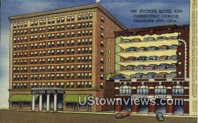 The Huckins Hotel  - Oklahoma City Postcards, Oklahoma OK Postcard