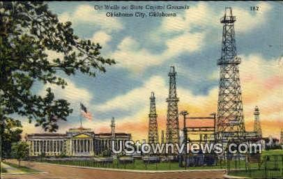 State Capitol - Oklahoma City Postcards, Oklahoma OK Postcard