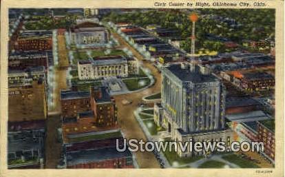 Civic Center - Oklahoma City Postcards, Oklahoma OK Postcard
