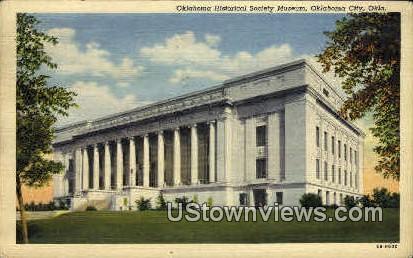 Oklahoma Historical Society - Oklahoma City Postcards Postcard
