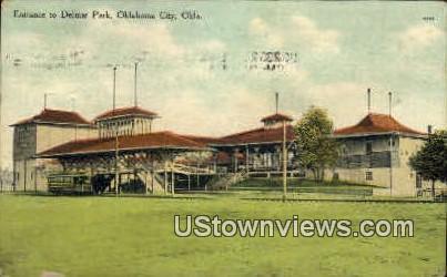 Delmar Park - Oklahoma City Postcards, Oklahoma OK Postcard
