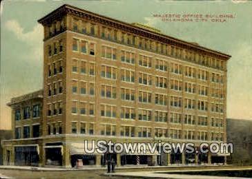 Majestic Office Building - Oklahoma City Postcards, Oklahoma OK Postcard