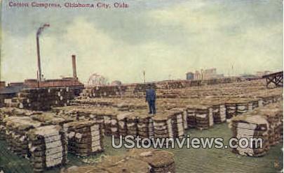 Cotton Compress - Oklahoma City Postcards, Oklahoma OK Postcard