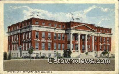 Epworth University - Oklahoma City Postcards, Oklahoma OK Postcard